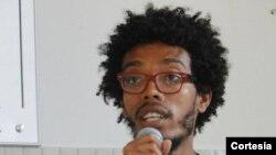 Lauro José Cardoso, aluno da Universidade de Integração Internacional da Lusofonia AFRO-Brasileira (UNILAB)