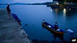 Озеро Никарагуа, около Гранады, Никарагуа, станет частью канала, соединяющего Тихий океан с Карибским морем.