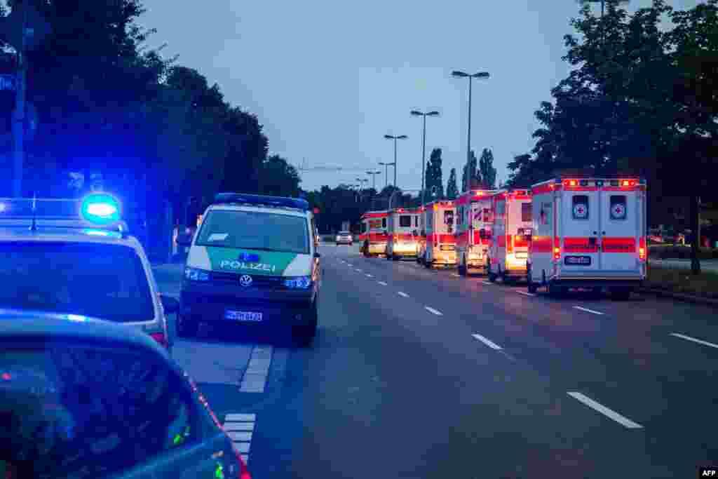 جرمن پولیس کے مطابق حملہ آور تنہا تھا جس نے بعد میں خود کو بھی گولی مار کر ہلاک کر لیا۔