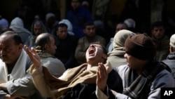Wakristo wa Kanisa la Coptic la Misri wakiomboleza wenzao waliouawa Libya