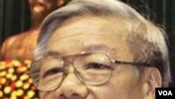 Ketua Partai Komunis Vietnam yang baru, Nguyen Phu Trong.