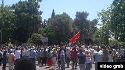 Protest pristalica Demokratskog fronta