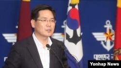 한국 국방부 김민석 대변인 (자료사진)