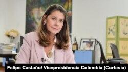 Vicepresidenta de Colombia, Marta Lucía Ramírez