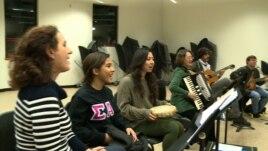 Muzika shqiptare në universitet amerikan