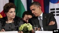 Барак Обама и Дилма Руссеф