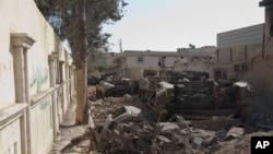 Одна из улиц Алеппо