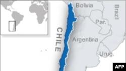 Peta wilayah Chile.
