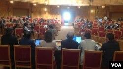 Konferansa 'Yekîtî jibo Demokrasîtyê li Îranê' roja Şembî li Swêdê destpê kir.