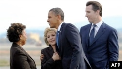 Tổng thống Obama đang trong chuyến đi vận động kéo dài 4 ngày đến 5 tiểu bang