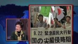 美国之音专访吕秀莲 谈中日岛屿争议