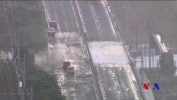 颱風蘭恩襲擊日本 至少兩人死亡