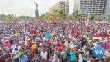 Manifestação em Luanda em solidariedade a Adalberto Costa Júnior
