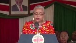 Hotuba ya mke wa rais Kenyatta kuhusu watoto
