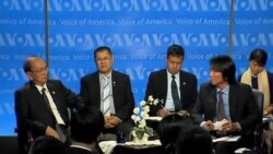 缅甸总统吴登盛访美 造访美国之音总部
