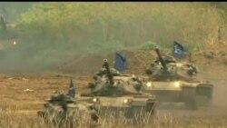 2013-04-17 美國之音視頻新聞: 台灣舉行年度漢光軍事演習