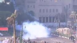 埃及民众继续抗议总统扩权政令