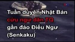 Tuần duyên Nhật Bản cứu ngư dân TQ gần đảo Điếu Ngư (Senkaku)