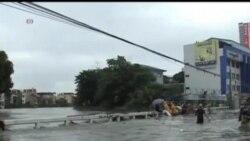 2013-08-20 美國之音視頻新聞: 菲律賓首都馬尼拉連續第二天遭暴雨侵襲