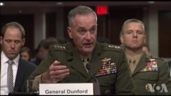 邓福德上将谈中国军力增强原声视频 (美国国会视频)
