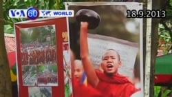 Miến Điện kỷ niệm sáu năm cách mạng Cà Sa (VOA60)