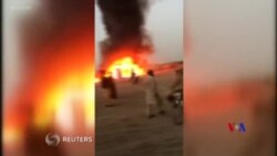2019-01-22 美國之音視頻新聞: 巴基斯坦巴士與運油車相撞至少27人死亡