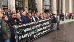 Ankara Garı Önünde Anma Gösterisi
