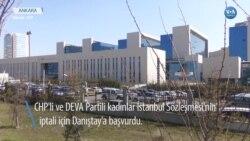 Kadınlar İstanbul Sözleşmesi İçin Hukuk Mücadelesi Başlattı