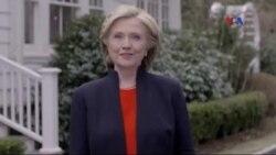 Hillari Klinton 2016-cı il prezident seçkilərinə namizəddir