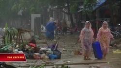 Mỹ hỗ trợ Việt Nam hơn 1 triệu đô khắc phục hậu quả bão Damrey