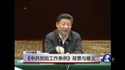 VOA连线:《中共党组工作条例》背景与意义