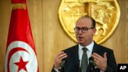 Le premier ministre tunisien Elyes Fakhfakh, à Tunis, le 24 janvier 2020.