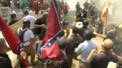 سه کشته در پی تجمع برتری طلبان سفیدپوست؛ پرزیدنت ترامپ محکوم کرد