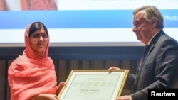 Malala Yousafzai, inyuma y'aho atorewe n'umunyamabanga mukuru wa ONU, Antonio Guterres kuba intumwa y'amahoro ya ONU