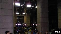 台灣學生衝擊行政院