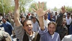 اعتراض های مردمی به بی حرمتی به قرآن در افغانستان ادامه دارد