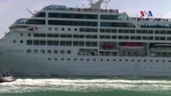 Tàu du lịch Mỹ đầu tiên tới Cuba sau khi bình thường hóa quan hệ