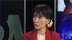 VOA Interview with Aung San Suu Kyi