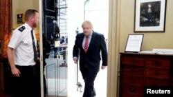 Борис Джонсон повернувся до роботи 27 квітня, прохворівши кілька тижнів на Ковід-19