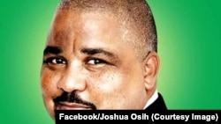 Joshua Osih investi candidat du principal parti d'opposition, 24 fevrier 2018. (Facebook/Joshua Osih)