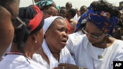 Wata mace take juyayin mutuwar mijinta a irin hare haren da yan kungiyar Boko Haram suka kai.