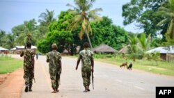 Bamwe mu Basirikare ba Mozambique