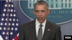 美國總統奧巴馬說,巴拿馬文件說明逃稅是一個嚴重的全球問題。