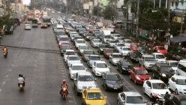 Bangkok là thành phố đứng thứ tám trên danh sách các thành phố lớn trên thế giới bị kẹt xe kinh khủng nhất