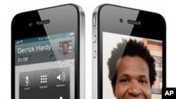 苹果公司的第四代iPhone手机