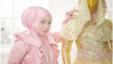 Anniesa Hasibuan dan busana rancangannya menembus New York Muslim Couture Fashion (Foto: Anniesa Hasibuan)