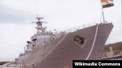 Tàu hải quân Ấn Ðộ INS Sudarshini.