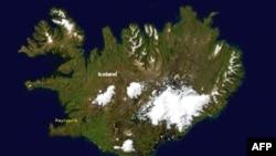 İslandiyada vulkan püskürüb