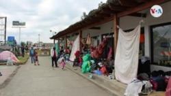En fotos: Así viven casi 200 migrantes venezolanos en campamentos improvisados en Colombia
