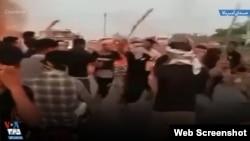 ادامه اعتراضات در خوزستان